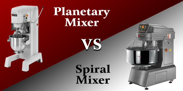 Planetary VS Spiral Mixers: What's the Difference?