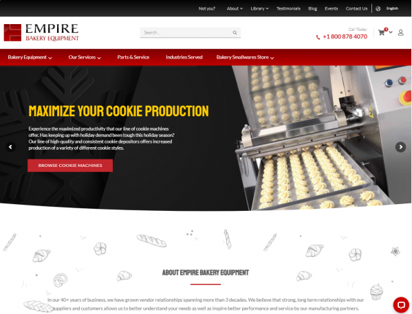 Empire Rings in the New Year with a Brand New Website
